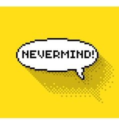 Nevermind phase in bubble vector image