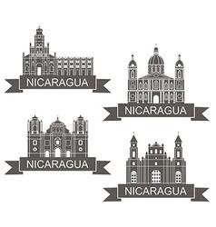 Nicaragua vector image