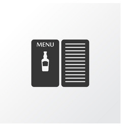pub book icon symbol premium quality isolated vector image