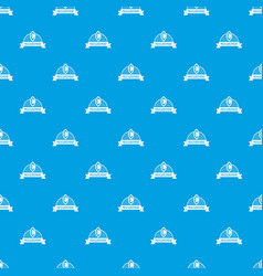 scales pattern seamless blue vector image