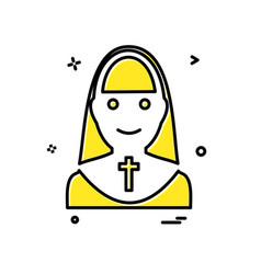 sister icon design vector image