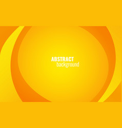 yellow twist lines background modern template vector image vector image