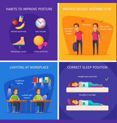 children healthcare design concept vector image