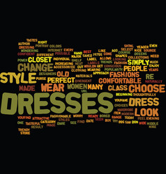 Find the perfect dress for you text background vector
