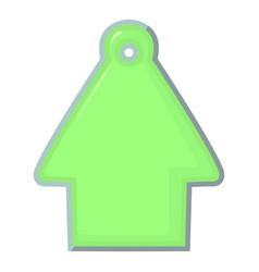 House tag icon cartoon style vector