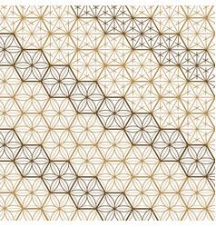 Japanese gold background and pattern vector