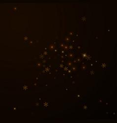 sparse starry snow christmas overlay christmas li vector image