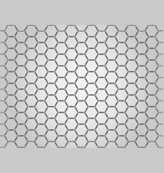 Steel chrome cells background vector
