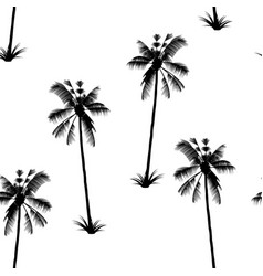 the palm pattern exotic tree tropical delight vector image