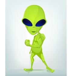 Cartoon Character ALIEN 033 CS5 vector image