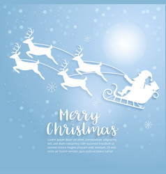 merry christmas art and vector image