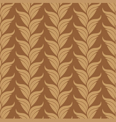 seamless abstract vintage art beige pattern vector image vector image