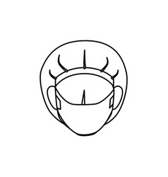 surgeon avatar character icon vector image