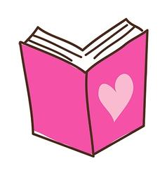 A book vector