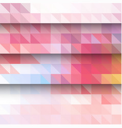 abstract background pattern with triangles and vector image