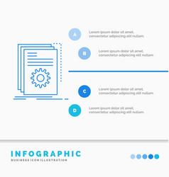app build developer program script infographics vector image