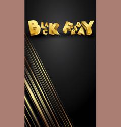 black friday background layout background black vector image