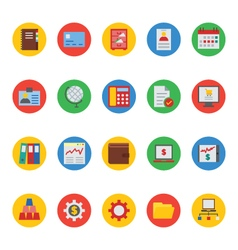 Business and Finance Icons 4 vector image