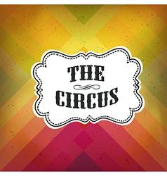 Circus retro diagonal lines vector