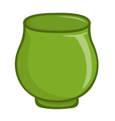 Cup isolated vector