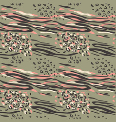 fashionable abstract seamless pattern vector image