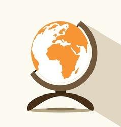 globe icons vector image