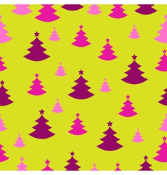 Seamless Christmas decoration present paper vector image