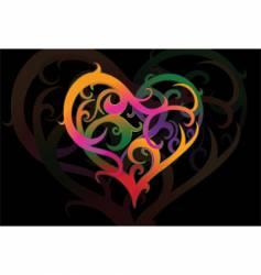 valentines heartshape vector image
