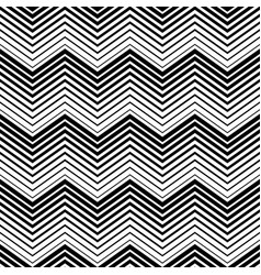 abstract seamless pattern black and white triangle vector image