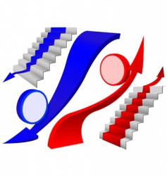 Arrow elements vector