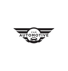 Automotive car logo design vector