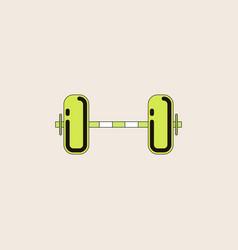 Barbell weight vector