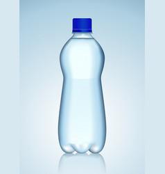 Bottle of water vector