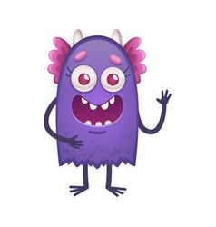 Cartoon creature vector
