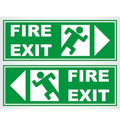 Fire Exit 01 vector