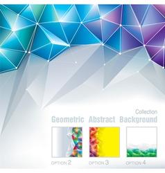 Geometric Polygonal vector image
