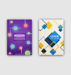 modern design covering on vector image