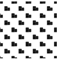 Paintball barell equipment pattern seamless vector