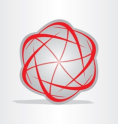 atom energy abstract symbol vector image