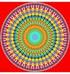 Mandala circle vector image vector image