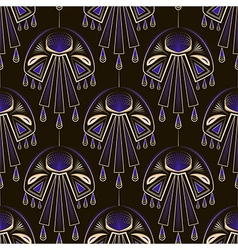 Seamless beautiful antique art deco pattern orname vector image vector image
