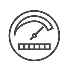 productivity thin line icon vector image