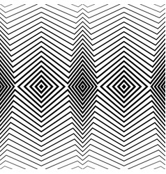 white pattern with black stripes seamless vector image vector image