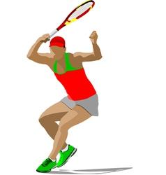 Al 1009 tennis 02 vector
