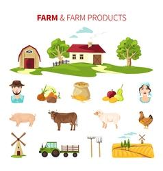 Farming Set vector