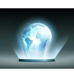 Global network hologram vector