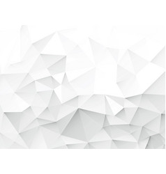 light gray geometric background vector image
