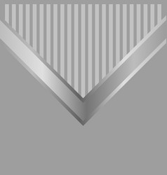 modern elegant simple abstract grey background vector image