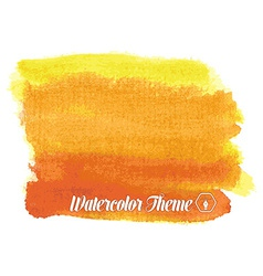 Watercolor theme vector image