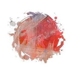 bright spot watercolor vector image vector image